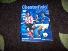 Chesterfield v Tranmere Rovers, 2001/02